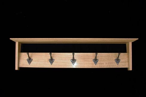 Arts and Crafts Coat Rail,