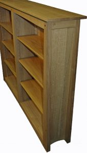 arts-and-crafts style bookcase by barry horton