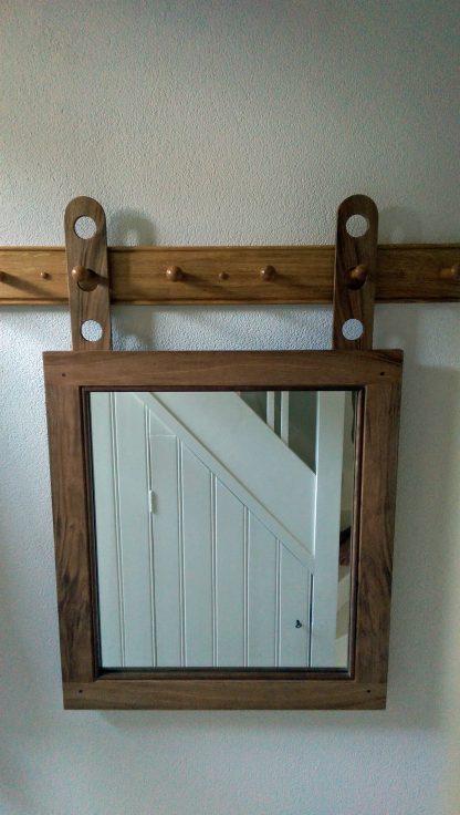 shaker hanging mirror